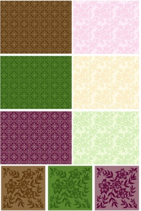 Tile pattern background vector graphics