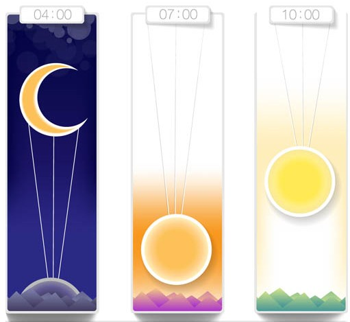 Time Elements vector graphics