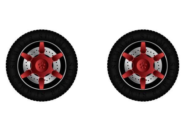 Tire vector set