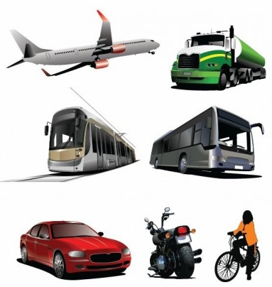 Transport Graphics vectors graphics