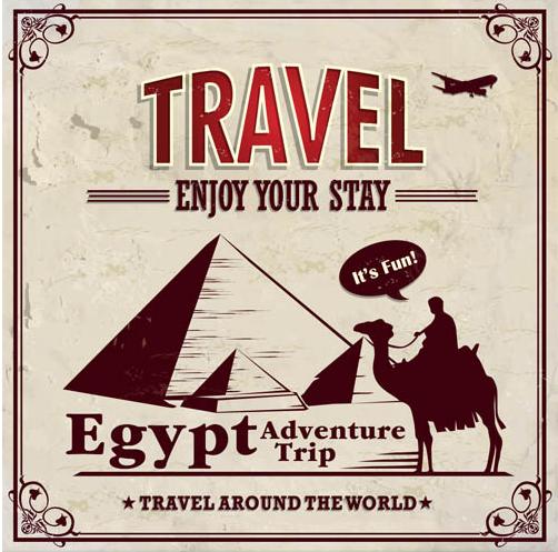 Travel Backgrounds 6 vector