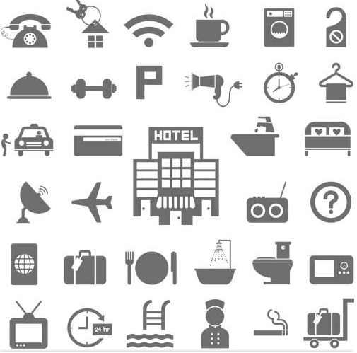 Travel Different Icons vector