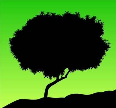 Tree Silhouette vector
