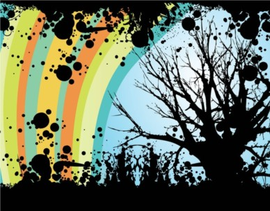 Tree Vector Graphics design vector