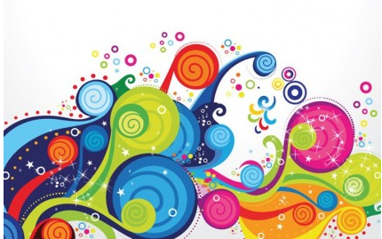 Trend Colorful Pattern vector