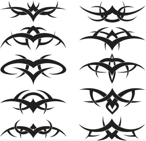 Tribal Creative Tattoos vector