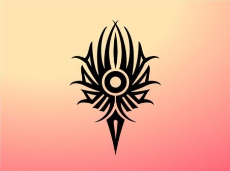 Tribal Torch creative vector