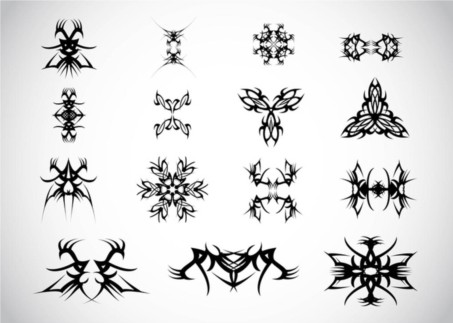 Tribal Vectors material
