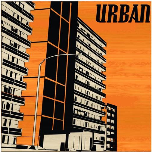 Urban Backgrounds creative vector