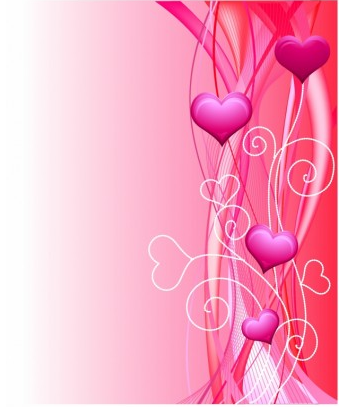 Valentine Background graphic vector