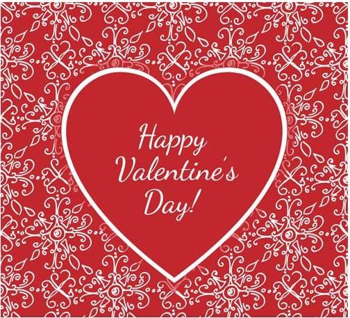 Valentines Backgrounds Set 2 vector