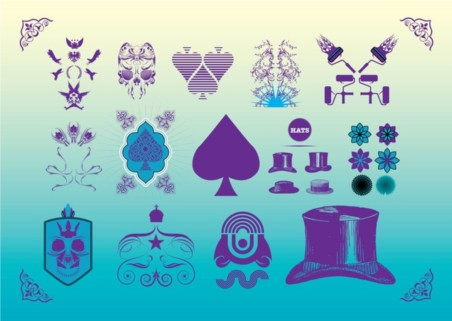 Art Freebies Set vector