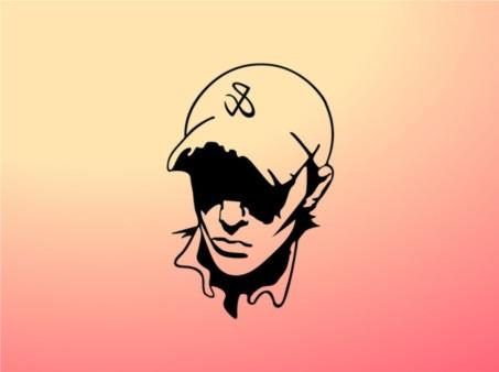 Boy With Hat design vectors