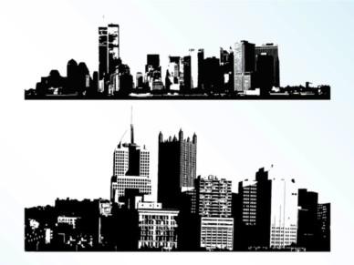 Cities vectors