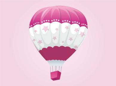 Hot Air Balloon design vectors