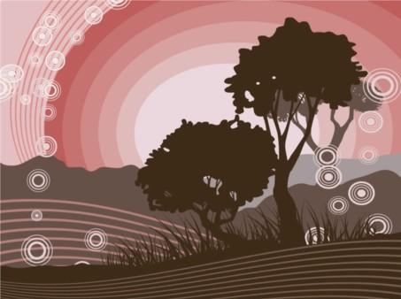 Nature Scene vector