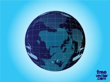Planet Earth vectors