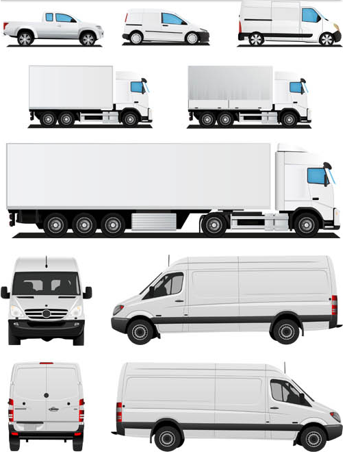 Vehicles graphic vector