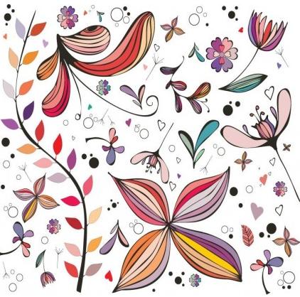 Vintage Decorative Elements set vector