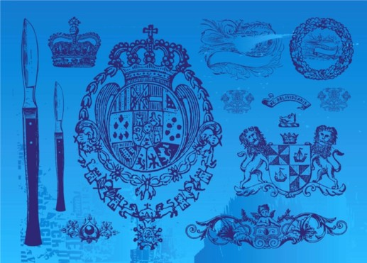 Vintage Emblems vector