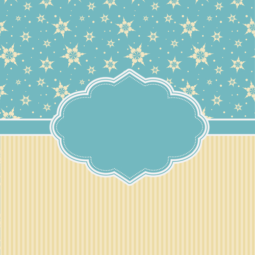 Vintage christmas background vectors graphics