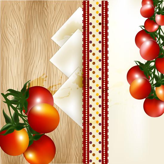 Vivid Tomato background 1 vector