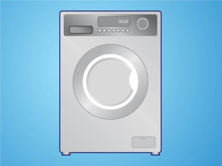Washing Machine vector graphics