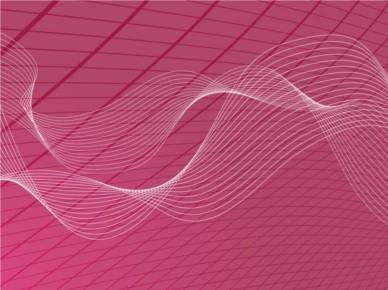 Wavy Grid Background design vector