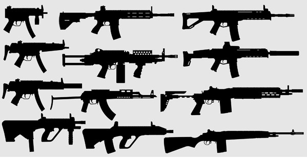 Weapons Pack Free 2 vector