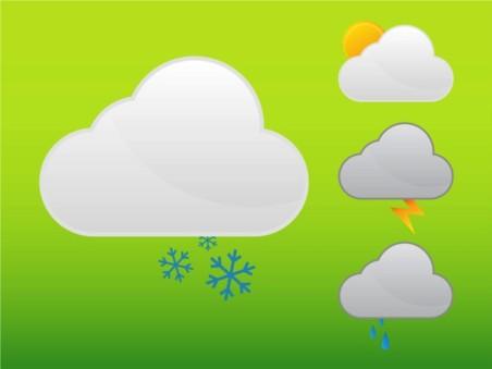 Weather Graphics vector