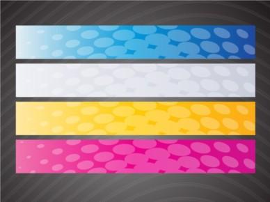 Web Banner Graphics set vector