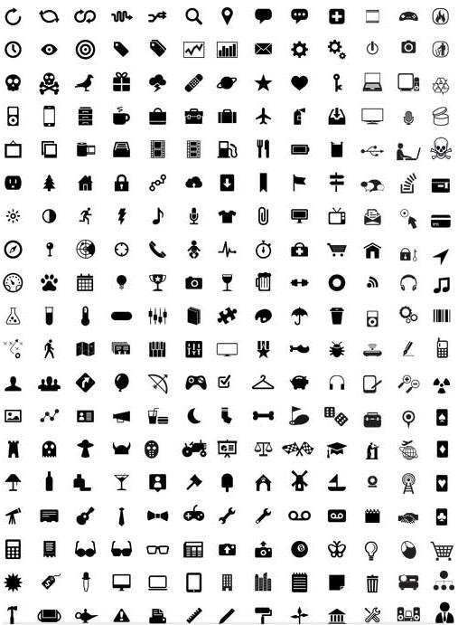 Web Icons Set 3 vector set