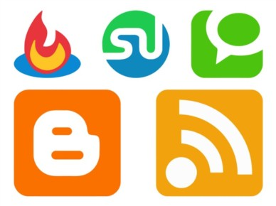 Website Logos Graphics vector
