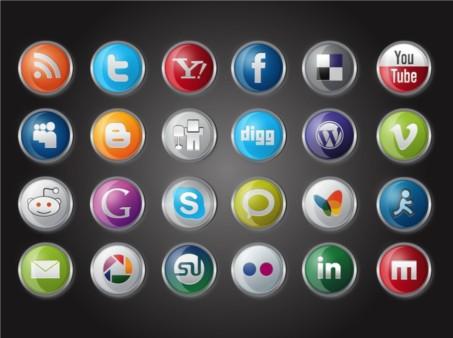 Website Logos vector graphics