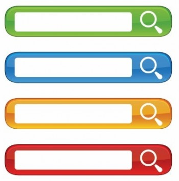 Website Search Boxes vector