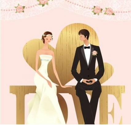 Wedding Vector Graphic 29 vector