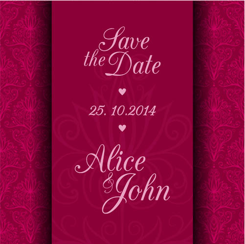 Wedding Vintage Backgrounds 5 vector design