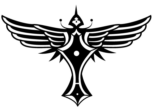 Winged Totem Vector