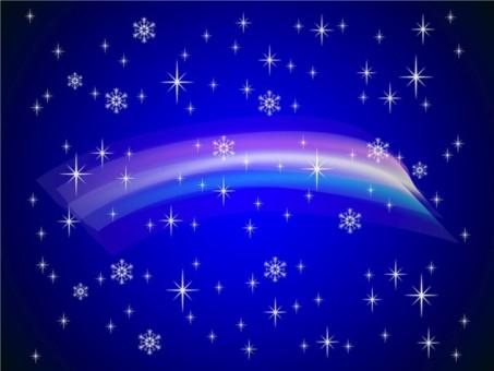 Winter Rainbow vector set