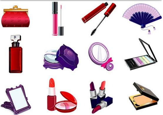 Women Cosmetics design vectors
