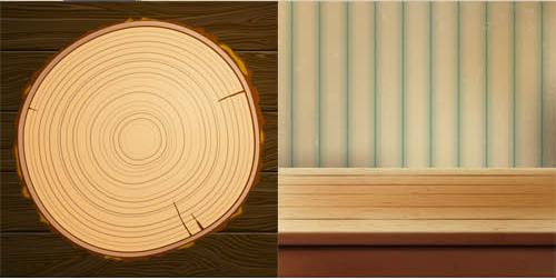 Wooden Backgrounds 2 vector graphics