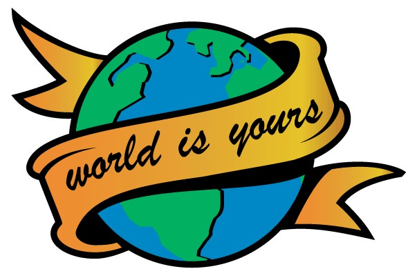 World is Yours Image vector