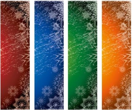 Xmas Banners vectors graphics
