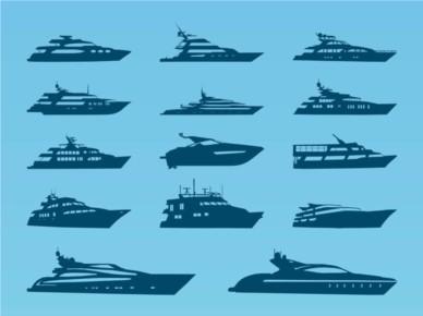 Yacht vectors graphic