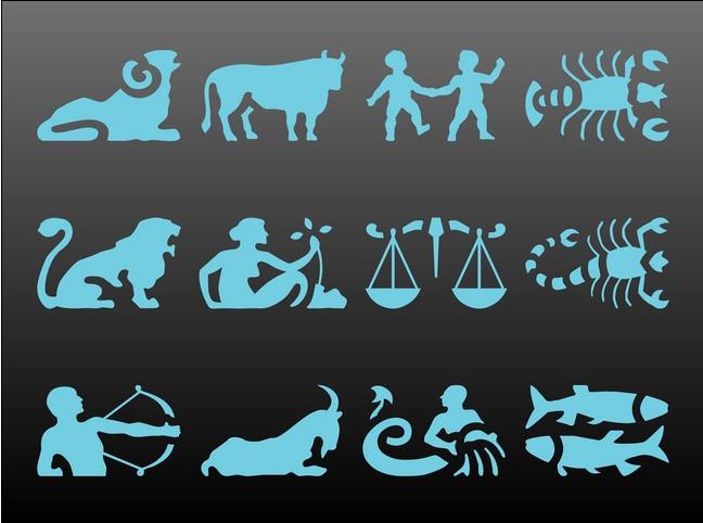 Zodiac Sign free vector