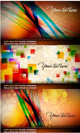 abstract bokeh light background vector material