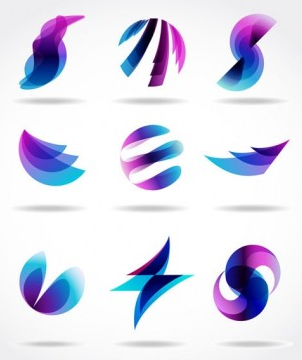 abstract symbol graphics 05 design vectors