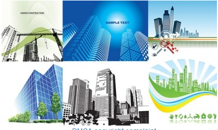 architectural theme vector
