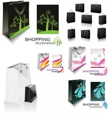 Bag Card Vector Material Free Download