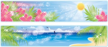 beautiful coastal scenery 03 vector